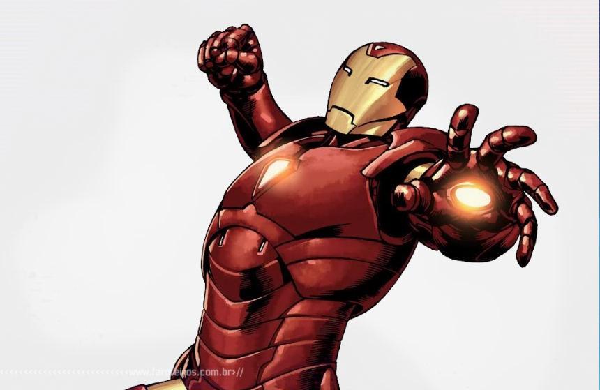 Homem de Ferro - Quadrinhos - Blog Farofeiros