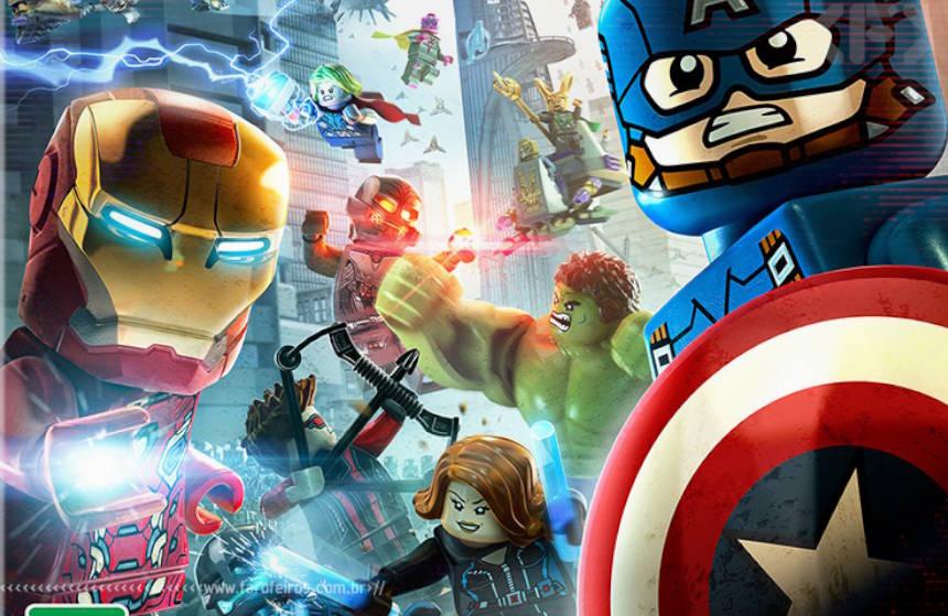 LEGO Vingadores - Blog Farofeiros
