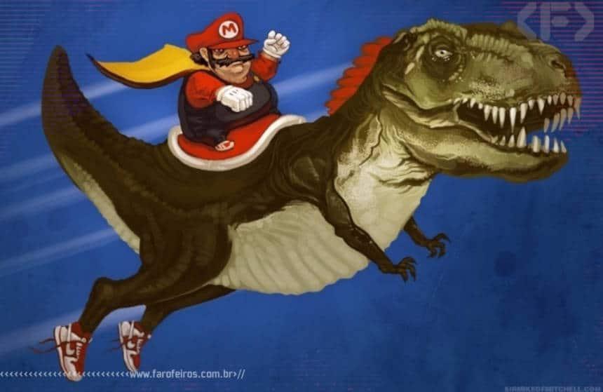 Super Mario realista de verdade - Blog Farofeiros