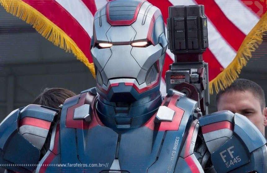 Patriota de Ferro - Homem de Ferro 3 - Blog Farofeiros