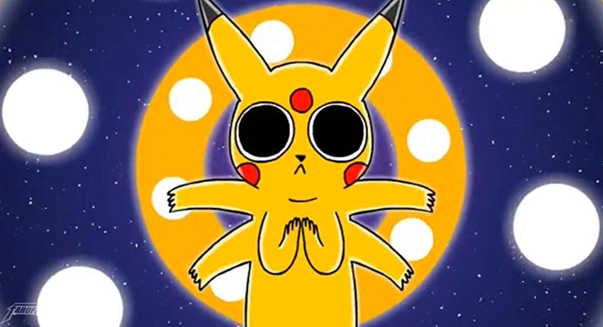 Pikachi viajando no ácido