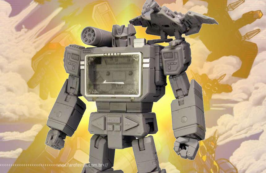 Transformers Masterpiece Soundwave - Blog Farofeiros