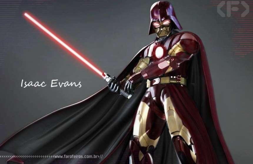 Darth Vader - Homem de Ferro - Darth Vader de Ferro - Blog Farofeiros