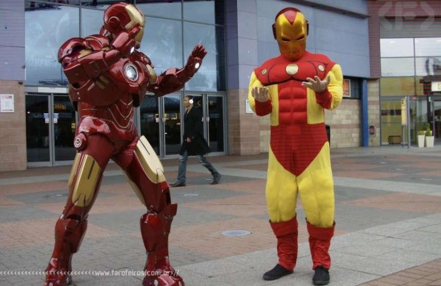 Alguns cosplays do Homem de Ferro são melhores que outros - Blog Farofeiros