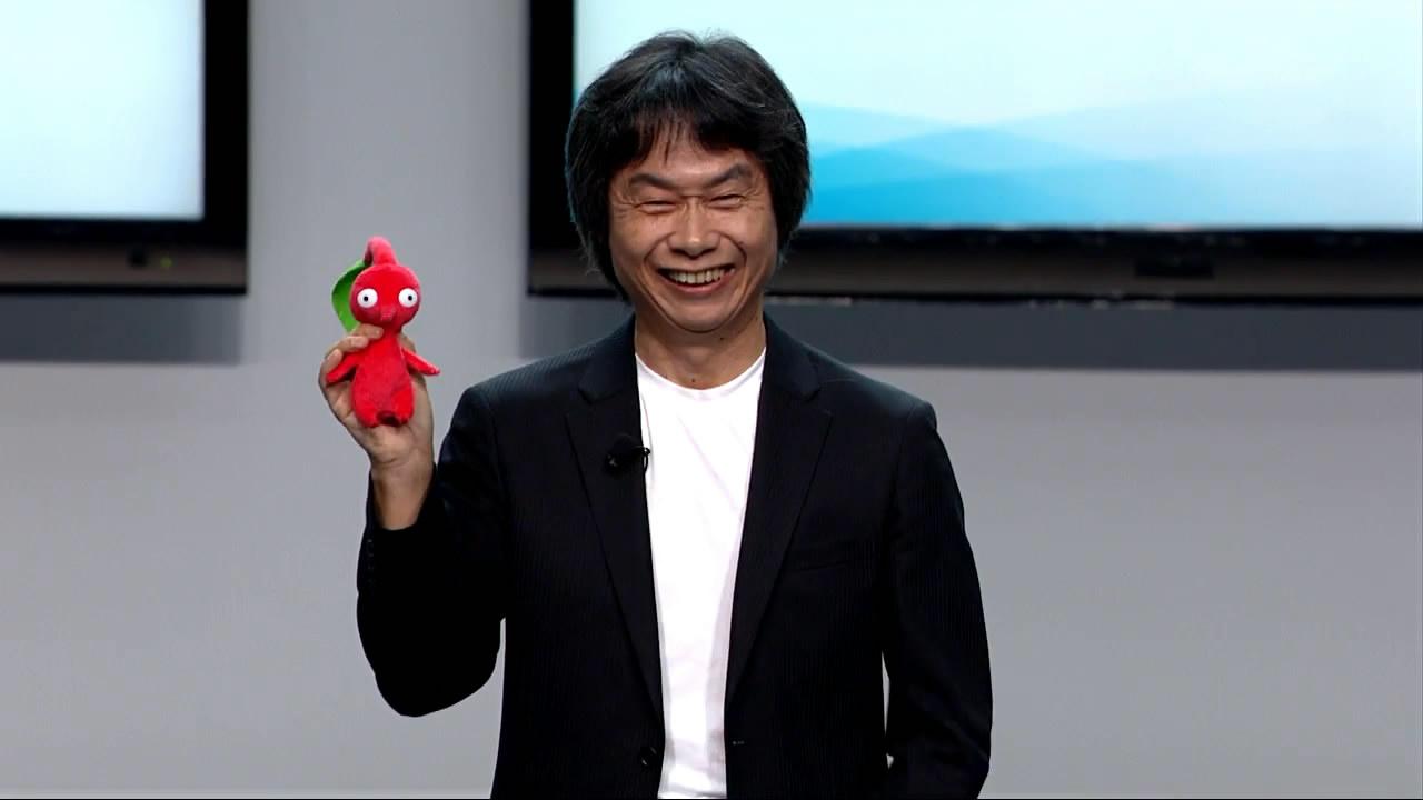 Shigueru Myamoto - Nintendo - Pikimin