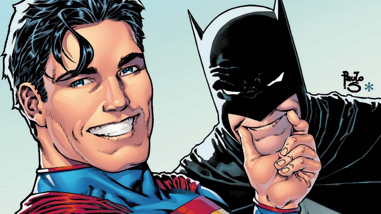 Superman trollando Batman