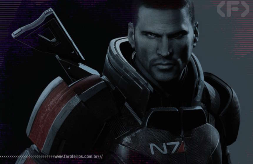 Commander Shepard - Mass Effect - N7 - Blog Farofeiros