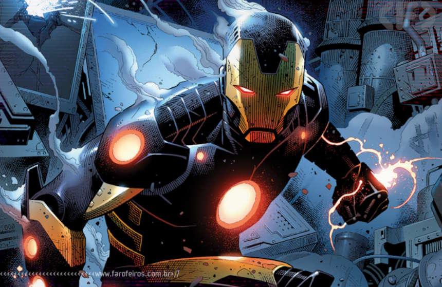 Iron Man #5 - Homem de Ferro - Kieron Gillen - Marvel Comics - Blog Farofeiros