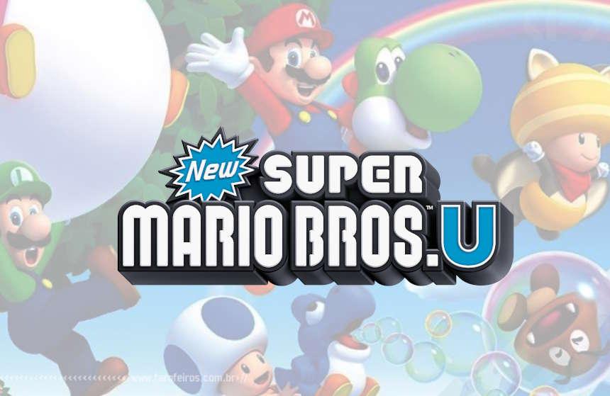 New Super Mario Bros U - Nintendo - Wii U - Blog Farofeiros