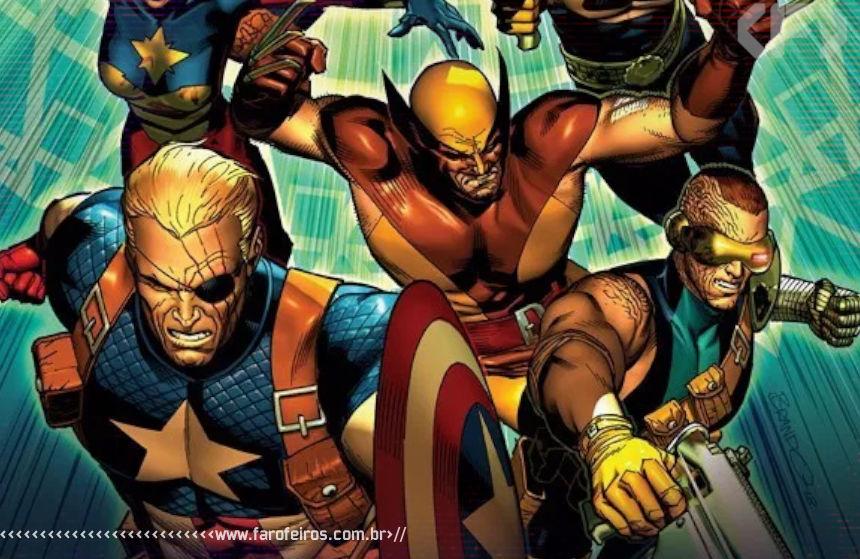 Marvel Malvada - Era de Ultron - Age of Ultron - 00 - Blog Farofeiros