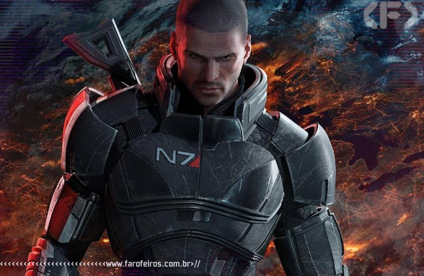 Eletronic Arts pede desculpas - Mass Effect 3 - Commander Shepard - Blog Farofeiros