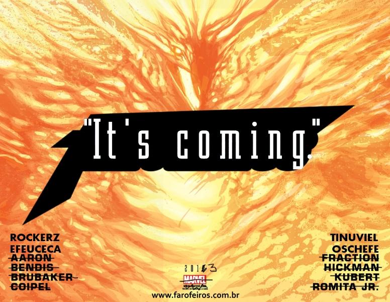 It's Coming - TÁ CHEGANDO - FAROFEIROS