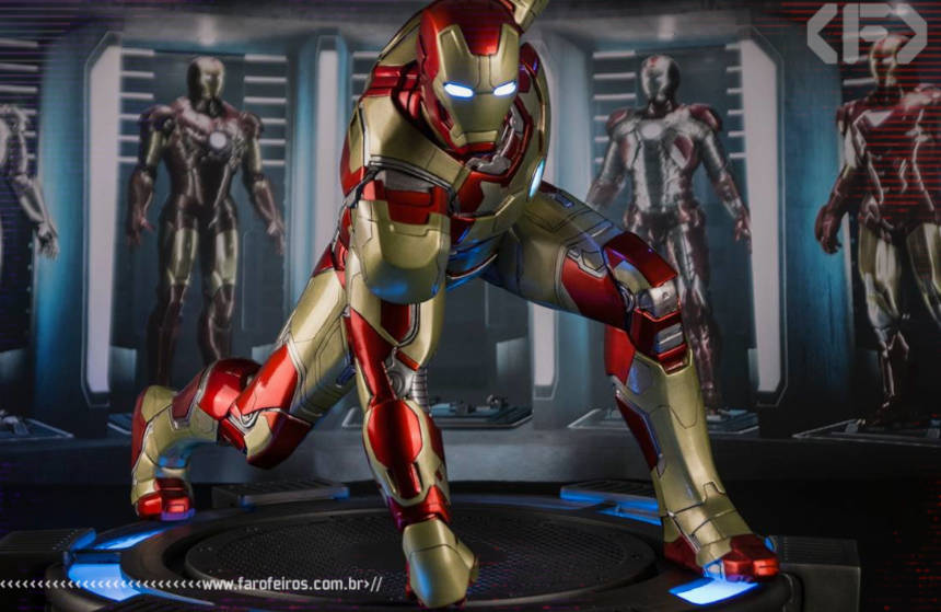 Homem de Ferro Mark XLII Legacy Replica 1/4 - Iron Studios - Blog Farofeiros