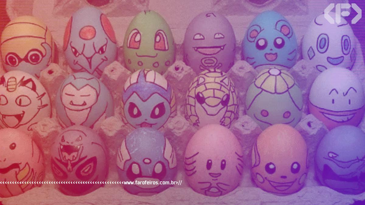 Ovos de Pokémon - Blog Farofeiros