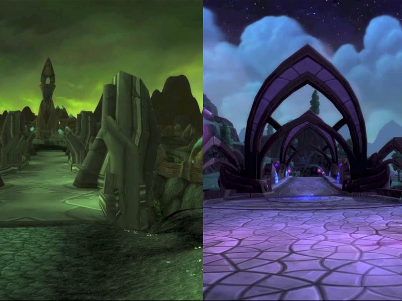 World of Warcraft - comparando Outland e Draenor - Blog Farofeiros