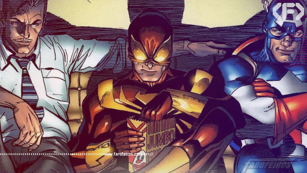 Homem Aranha estará em Guerra Civil - Blog Farofeiros - 00