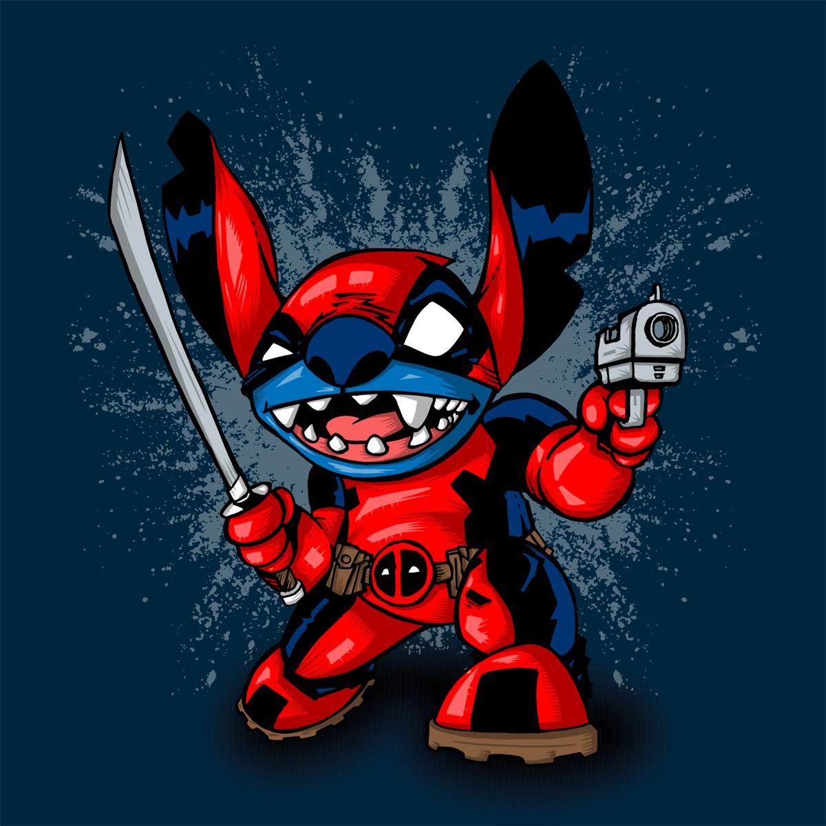 Deadpool + Stitch = StitchPool