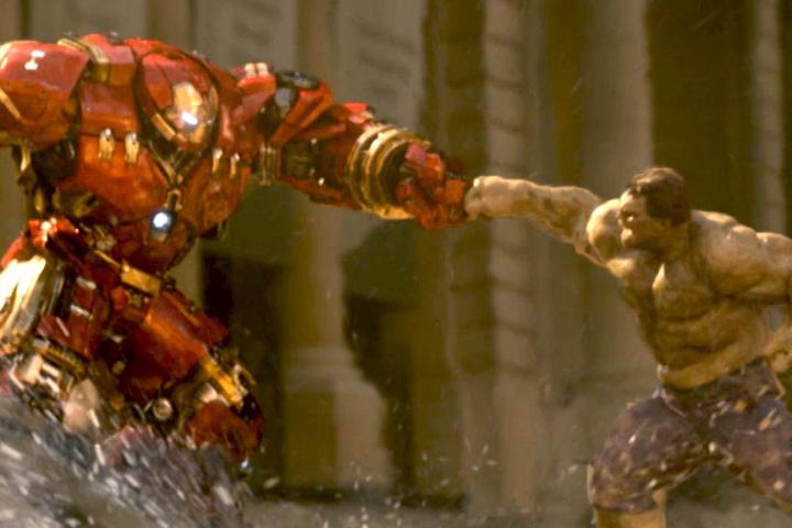 Sr Homem de Ferro vs Hulk