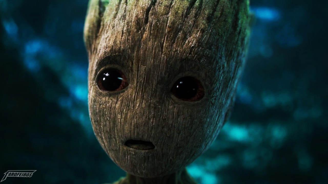 Quando o hype é real mas o brinquedo do Groot não