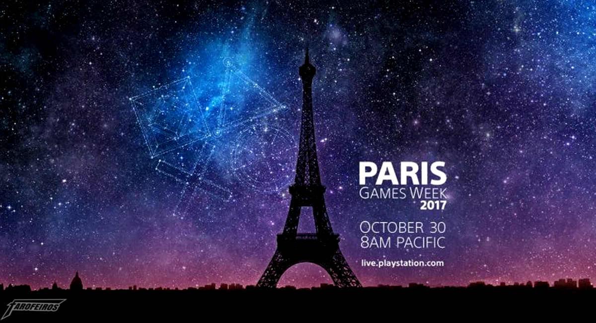 Playstation Ao Vivo da Paris Games Week 2017