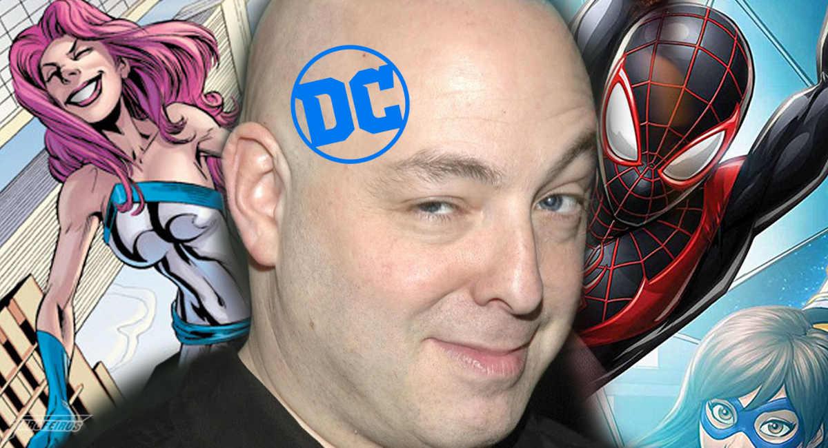 Brian Michael Bendis é exclusivo da DC Comics