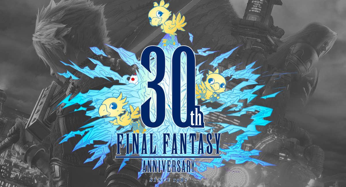 30 anos de Final Fantasy
