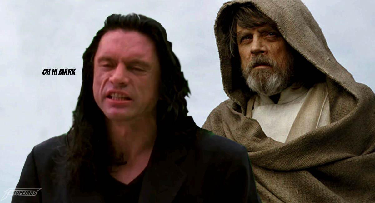 Star Wars com Tommy Wiseau