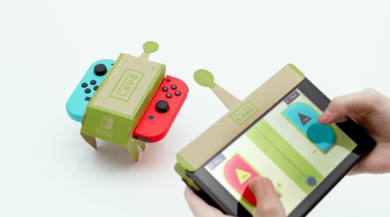 Switch de papelão ou Nintendo Labo