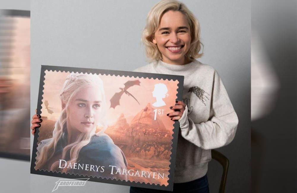 Daenerys mostrando o selo