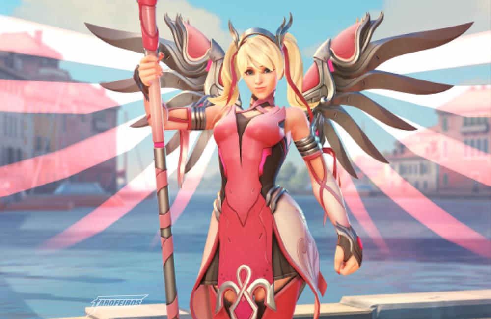 Mercy Rosa - Overwatch