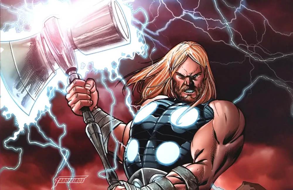 Rompe Tormenta o novo martelo de Thor em Guerra Infinita - Mjolnir Universo Ultimate