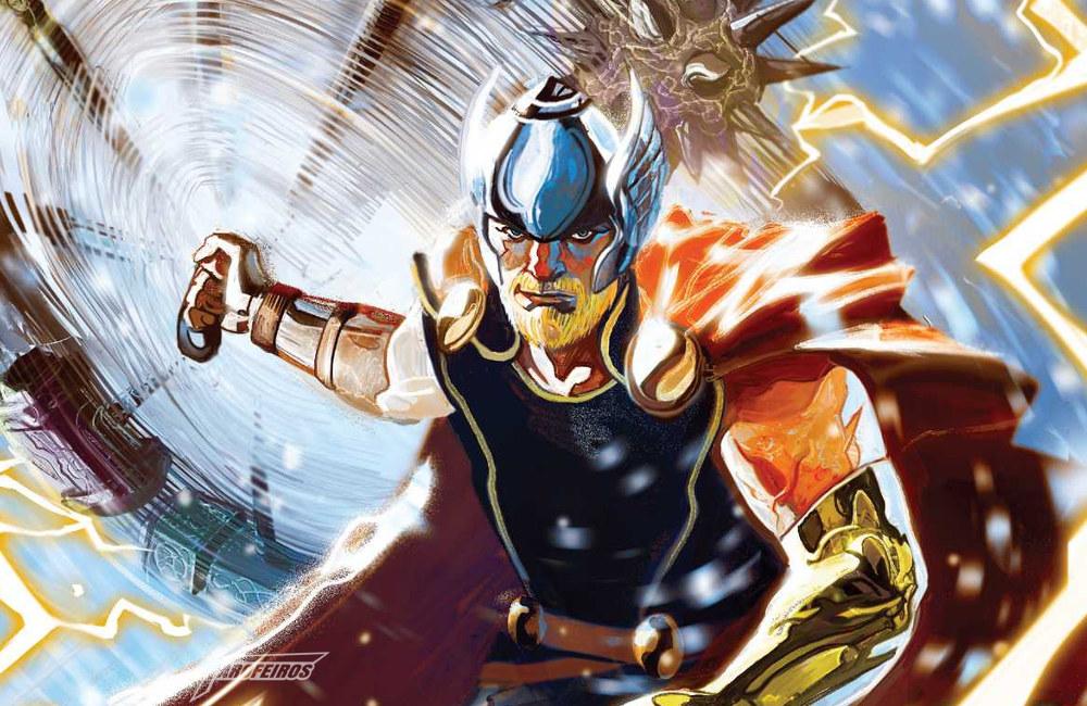 A última página de Thor #1