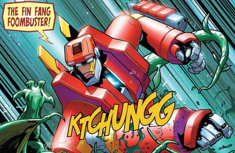 Fin Fang Foombuster - Mais uma armadura para o Homem de Ferro