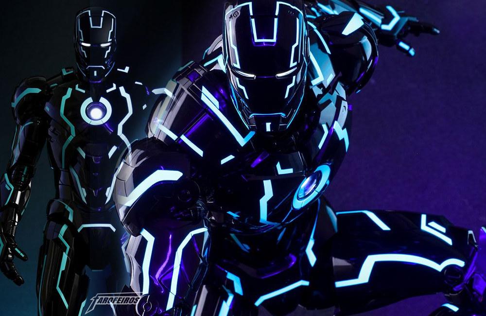 Iron Man Neon Tech - O Homem de Ferro inspirado em Tron