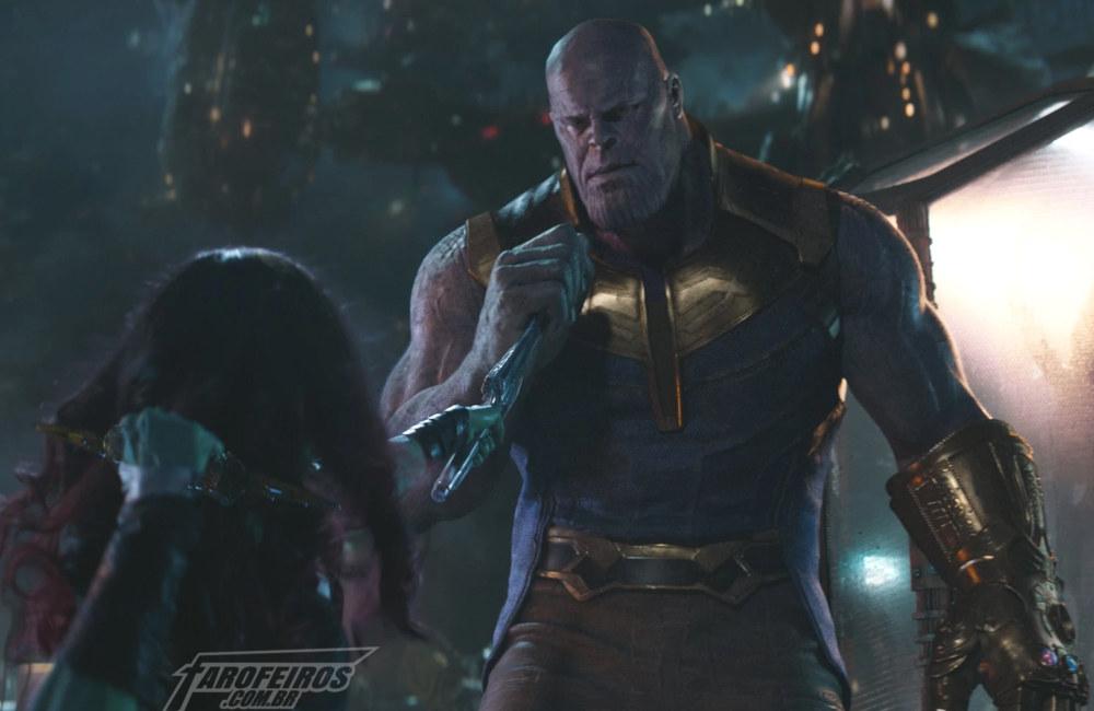 Dia dos Pais do Thanos - Gamora - Guerra Infinita - FAROFEIROS COM BR