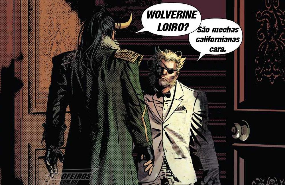 Wolverine loiro - Infinity Warps - Infinity Wars - Guerras Infinitas - Marvel Comics - Loki - Blog Farofeiros