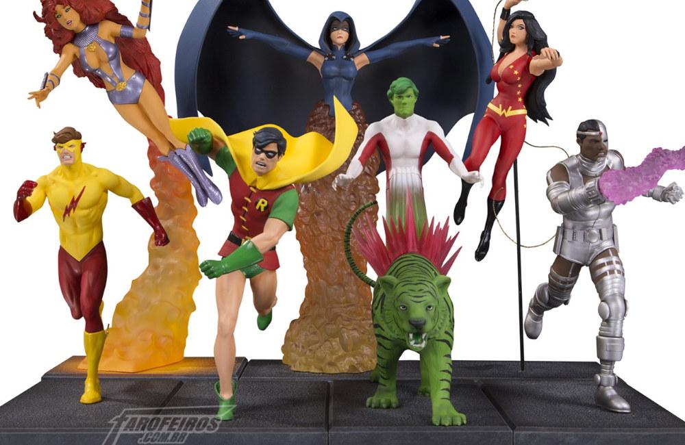 Jovens Titãs da DC Collectibles - Blog Farofeiros
