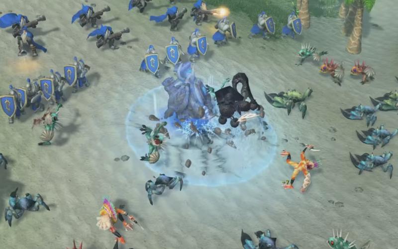 russos estão refazendo Warcraft III