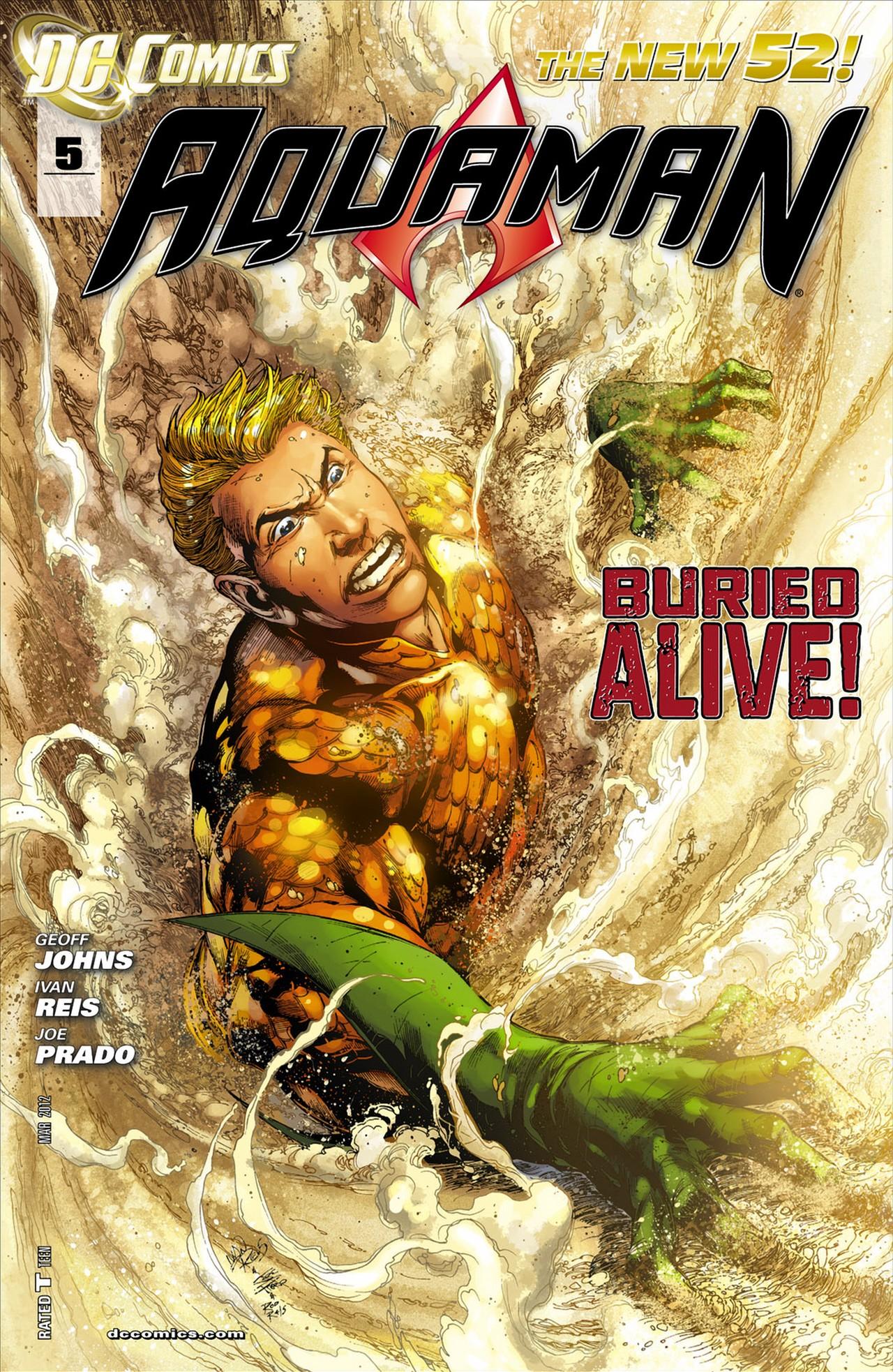 Aquaman #5 Vol 7 2012 - Blog Farofeiros