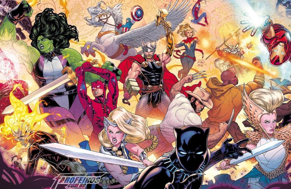 Guerra dos Reinos - War of the Realms - Marvel Comics - Blog Farofeiros