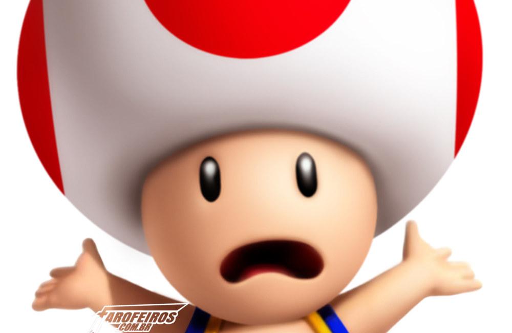 A culpa nunca é dos videogames - Super Mario - Toad - Blog Farofeiros