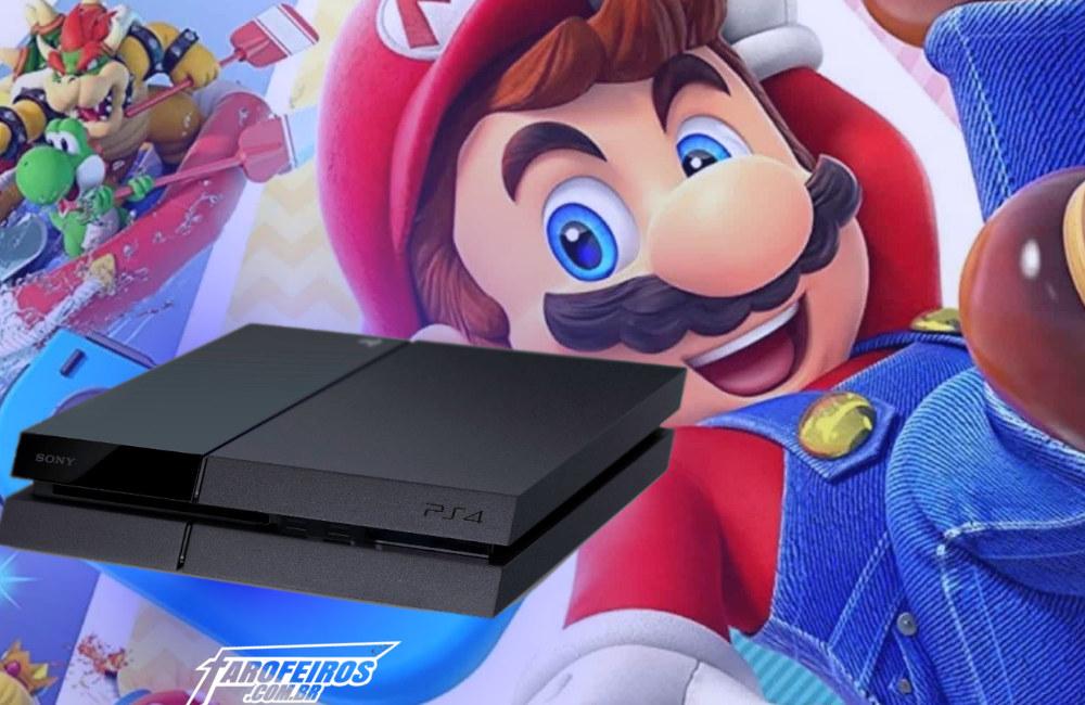 Super Mario Maker no PS4 - Little Big Planet 3 - Blog Farofeiros