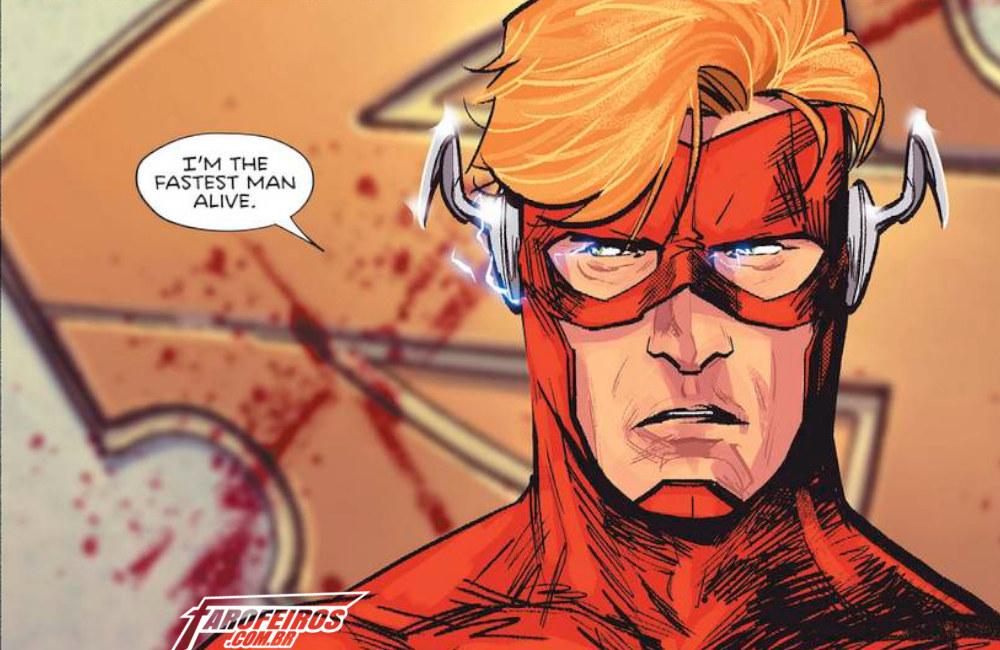 A tragédia de Wally West em Heróis em Crise - Heroes in Crisis - Flash - Kid Flash - 01 - Blog Farofeiros