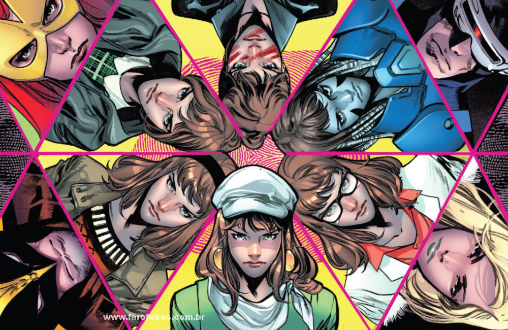 Moira MacTaggert e os X-Men - House of X - Marvel Comics - Blog Farofeiros