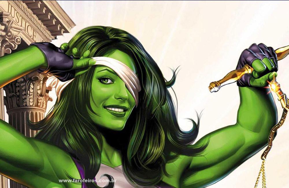 Novidades das séries da Marvel Studios na D23 Expo 2019 - Mulher Hulk - Quadrinhos - Blog Farofeiros