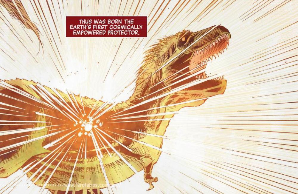 O primeiro super herói da Marvel foi um dinossauro - Vingadores - Estigma - Avengers #26 - Blog Farofeiros - 0