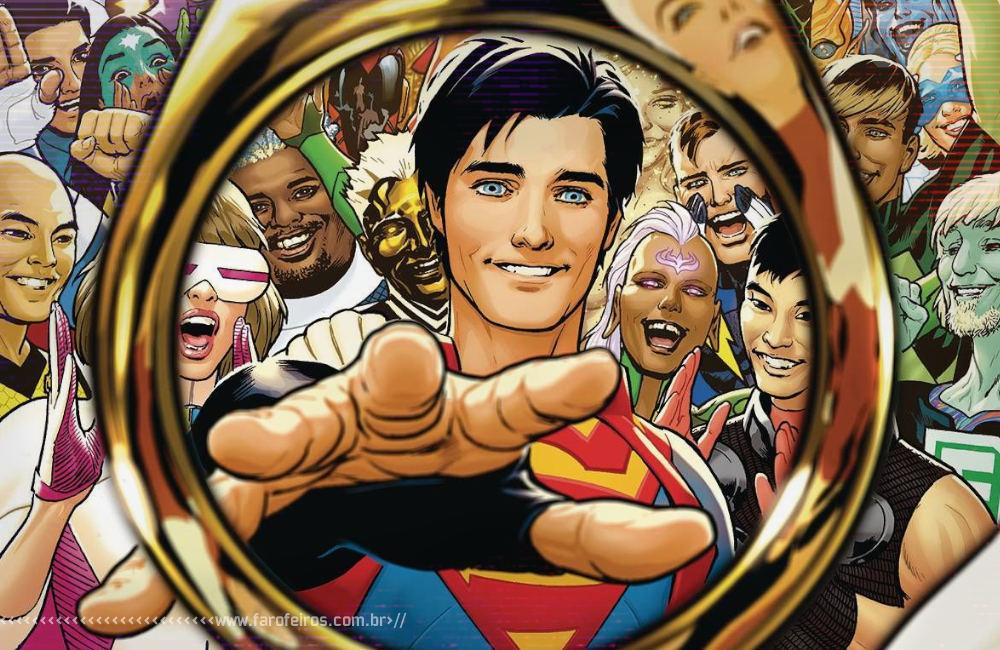 Superboy na Legião de Super Heróis - Jon Kent - Legion of Superheroes - DC Comics - Blog Farofeiros