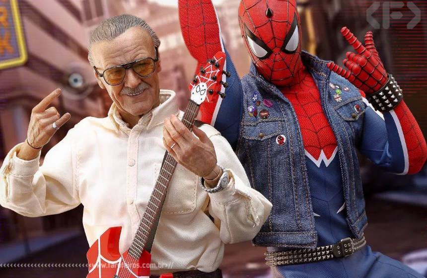 Música de farofeiro - Aranha Punk - Homem Aranha - Stan Lee - Blog Farofeiros