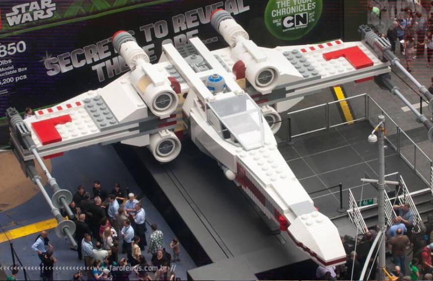 Tédio e LEGO - X-Wing - Star Wars - Blog Farofeiros