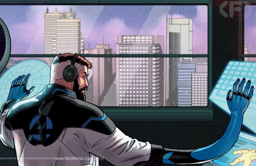Música Lofi da Marvel Comics - Reed Richards - Quarteto Fantástico - Blog Farofeiros 00